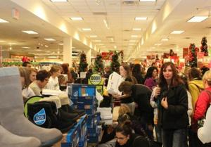 Black Friday at Herberger's 2011
