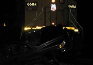 Car-train accident