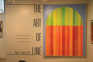 Lining up art takes more work than students imagined
