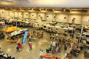 Kearney RV, Boat and Sports Show features motor homes, kayaks and more