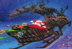 NORAD tracking Santa's flight