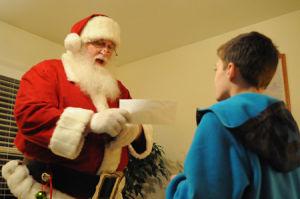 Dear Santa, From Austin S.
