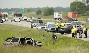 Passenger dies in I-24 collision