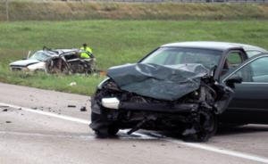 Woman dies in I-24 collision