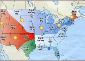 Almanac provides outlook for 2011 weather - Kentucky New Era: News