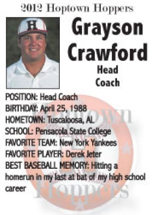 Grayson Crawford Head Coach