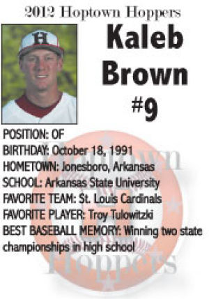 Kaleb Brown #9