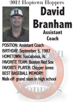 David Branham Assistant Coach
