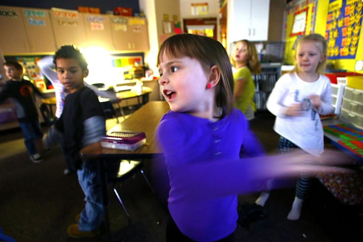 Modular Classroom Yoga ~ Kindergarten yoga master local news kokomotribune