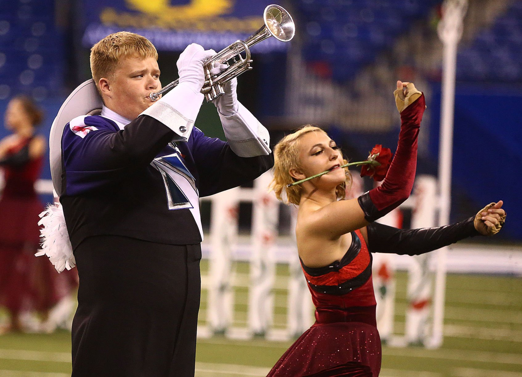 Marching Aggies score at state