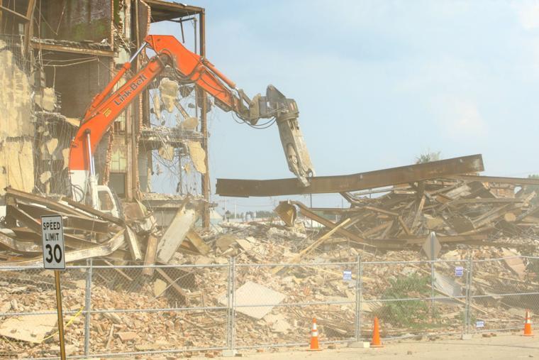 Building Demolition With Explosives : Haynes building demolition kokomo tribune news