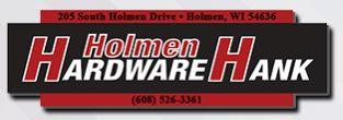 Holmen Hardware Hank & Rental
