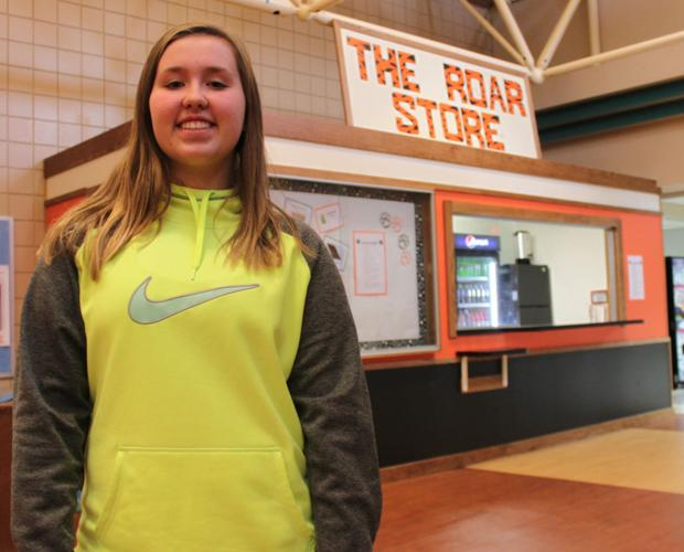 Store is an 'enterprise' for BRF Middle School