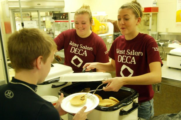 Pancake breakfast raises money for New Horizons