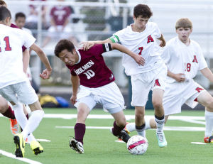 Photo gallery: Arcadia vs. Holmen boys soccer