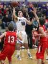 Hilltoppers overcome 16 3-pointers for nonconference boys basketball win