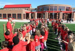 Northside Elementary Flag Raising