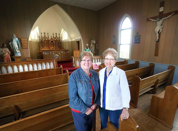 Long-closed Melrose parish clings to its heritage