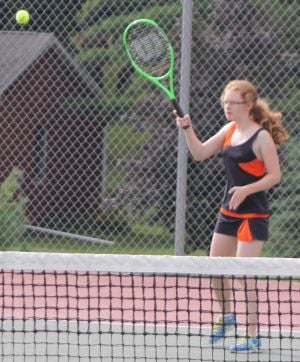 Viroqua's Berg is second-team, all-conference in tennis
