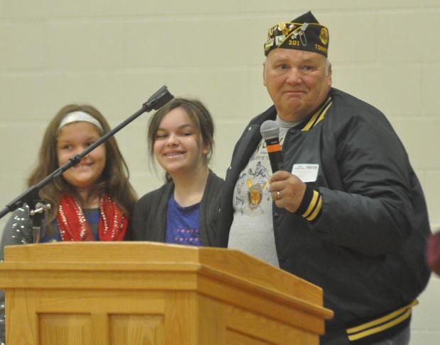 Tomah schools honor veterans