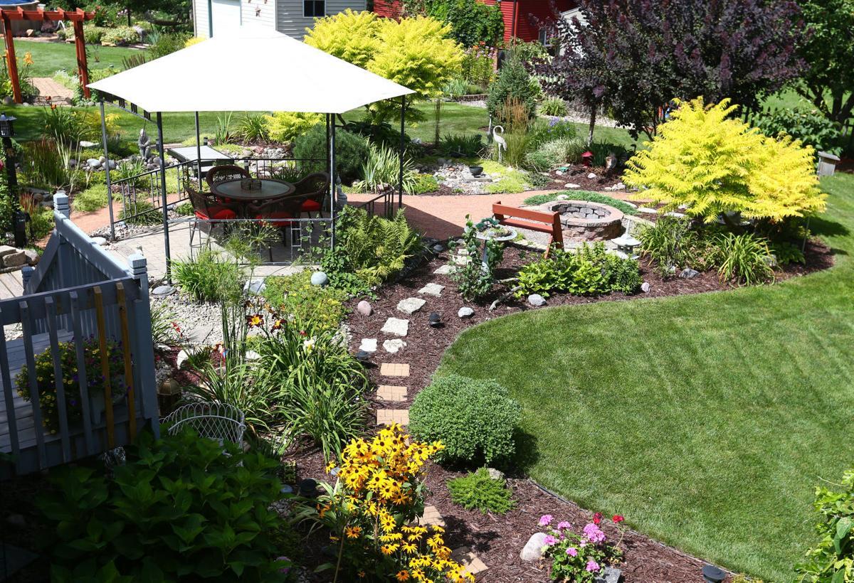 neighbors plan fall garden tour home and garden