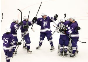 Onalaska boys at WIAA state hockey tournament