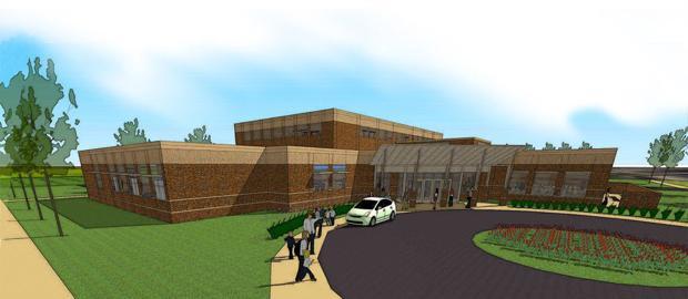 Holmen community center gets funding from afar