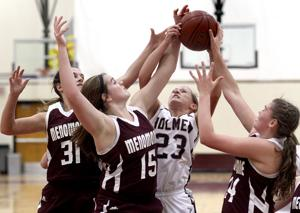 Photos: Menomonie vs. Holmen girls basketball