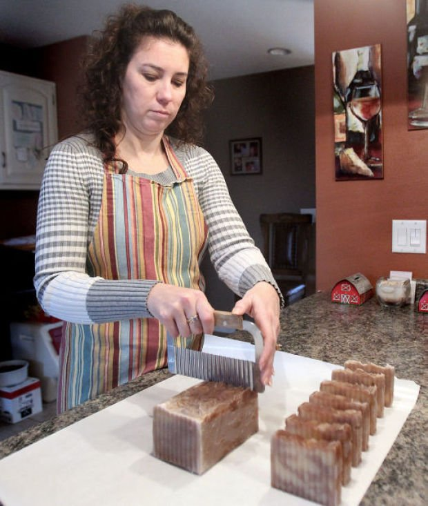La Crescent woman grows Purely Natural Soaps business