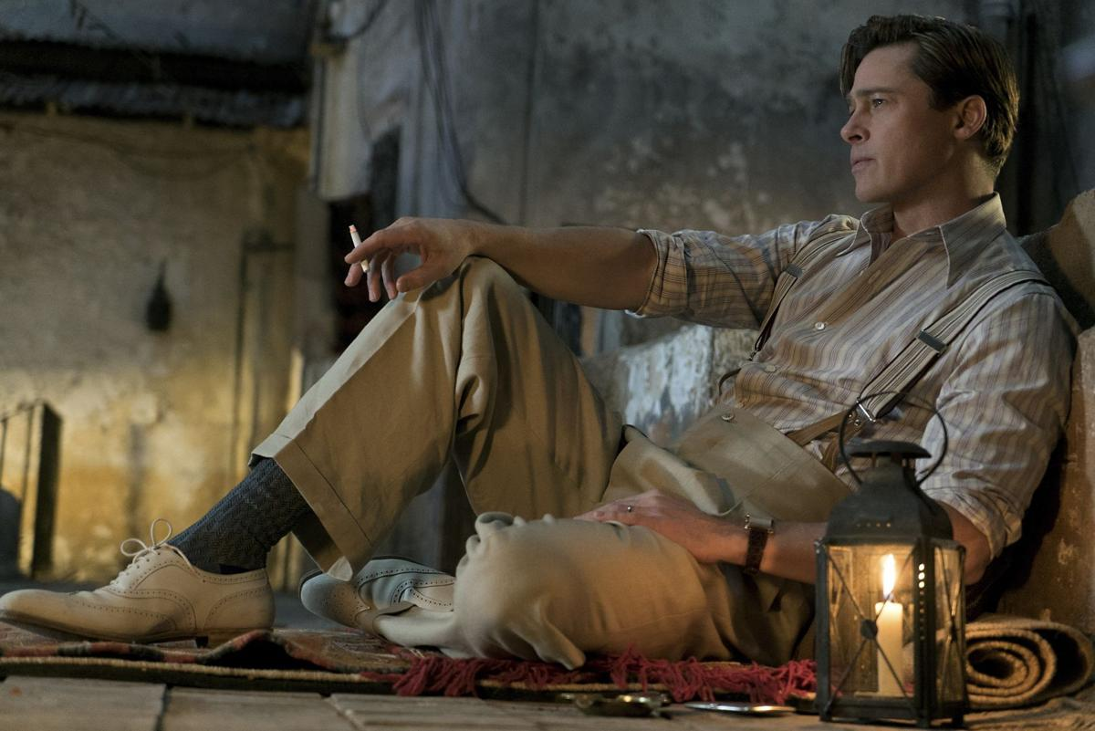 entertainment film review allied