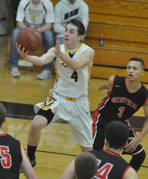Central's athletes roll past Tomah boys