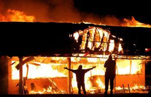 Photos: Ferguson reacts to grand jury decision