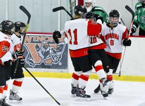 Photos: Winona High Boys Hockey 2014-15