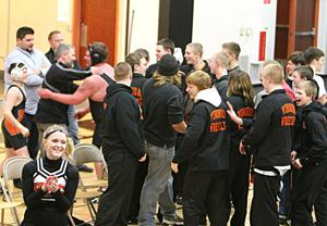 Viroqua squeaks by Westby in thunderous wrestling dual meet