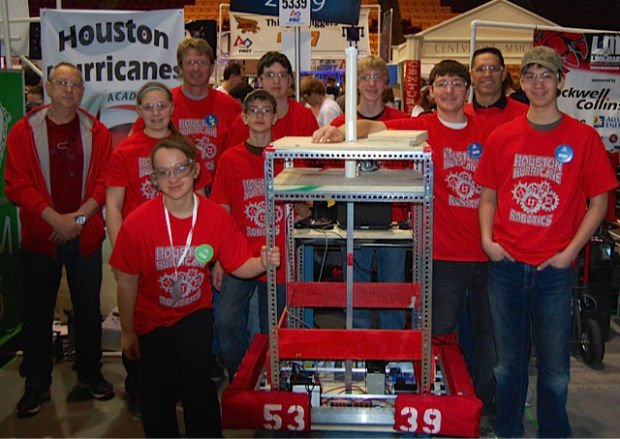 Houston robotics teams heads to world championships