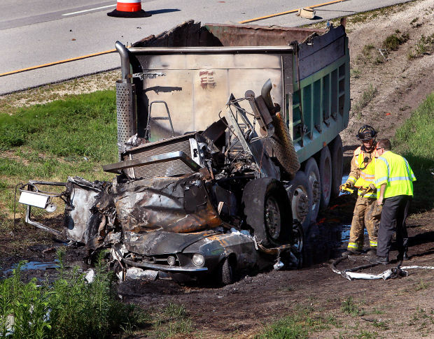 Dump truck driver in fatal I-90 crash facing homicide charge