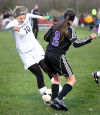 Mathy leading Aquinas girls soccer to state elite