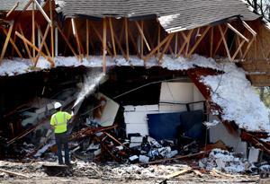 Photo gallery: Poage Park demolition