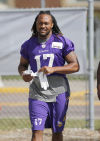 Wright 'carrying the torch' for former Viking Greg Childs