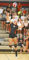 VHS volleyball team defeats Westby, 3-1