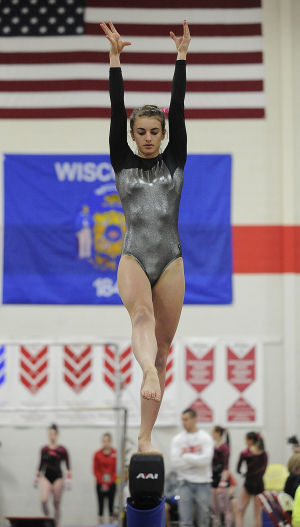 Viroqua gymnasts participate at state