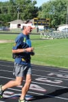 Blind runner crossing the country to raise awareness for cystic fibrosis