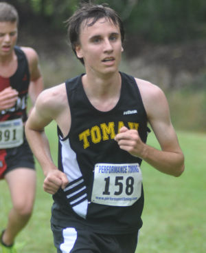 Tomah runners compete at Brookwood