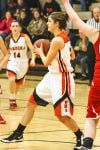 Viroqua girls basketball team falls short against Luther Knights