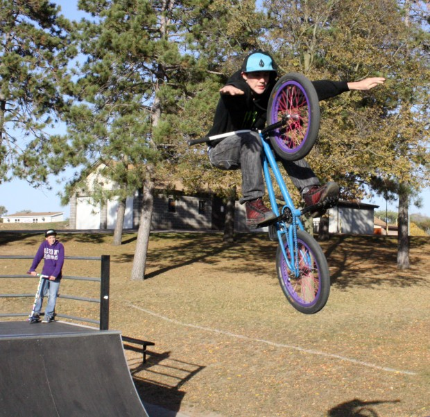 Bikes Unlimited La Crosse Wi SA skatepark