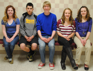 Forensics students win medals at state