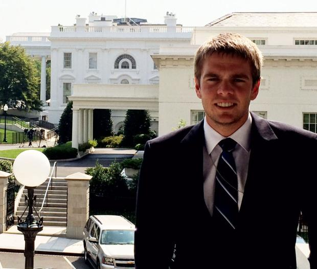 Caledonia student makes it to the White House