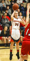 Hawks start strong, but wilt under Westby's pressure