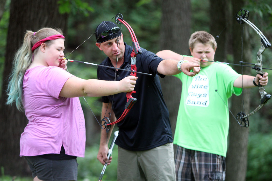 Olympics Ace Shares Archery Skills With Area Kids Local