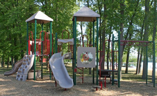 Wildcat gets new playground set